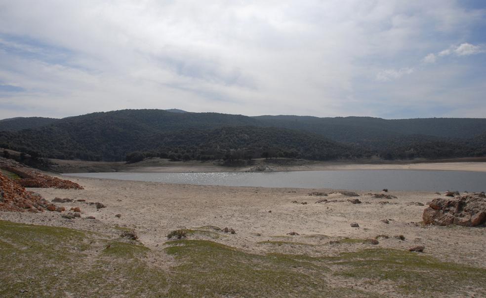 Moyen atlas : le lac Afourghagh